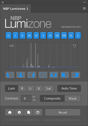 Nino Batista | NBP Lumizone Plug-in for Photoshop